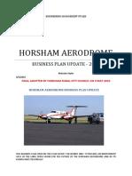 Horsham Rural City Council Aerodrome Business Plan 2010
