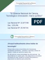 Ciencia y Tecnologia Derecho Ambiental UNLAM