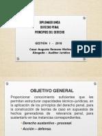OFICIAL DERECHO PENAL TEMA I (PRINCIPIOS) - UMSA - PARTE I.pdf