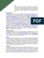 Geopolítica de Guatemala