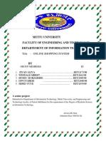 Mettu University Online Shopping