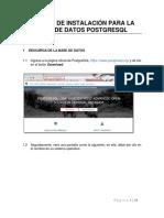 Manual de Instalaciòn de PostgreSQL