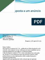 Carta-resposta a um anúncio.pptx