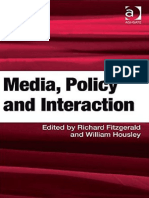 William Housley, Richard Fitzgerald (edS.) - Media, Policy and Interaction (2009, Ashgate).pdf