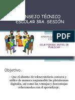 Consejo Técnico Escolar 4ta