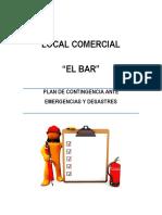 Plan de Contingencia EL BAR