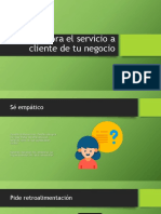 Mejora El Servicio a Cliente de Tu Negocio