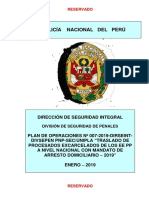 P.O N° 007 TRASLADO INTERNOS EXCARCELADOS EEPP A NIVEL NACIONAL 2018