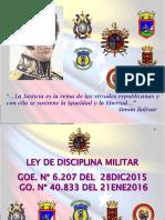 Ley Disciplina Militar 2016-1