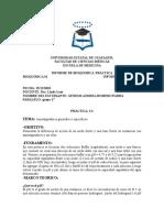 Informe de Amortiguadores generales y específicos
