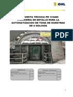 PR 133460 Propuesta Tecnica Ing Toma de Muestra de Molinos