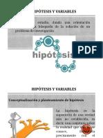 Hipc3b3tesis y Variables