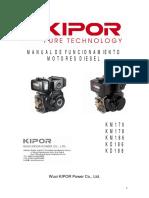 Manual Motor Diesel (Español) KD188