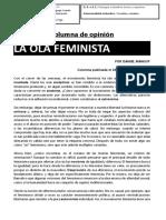 Analisis Columna Opinión