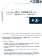 Centro Nacional Prevencion Del Delito Participacion Ciudadana