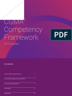 Cgma Competency Framework 2019 Edition