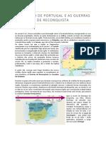 Formação de Portugal e as Guerras de Reconquista