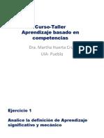 Curso-Taller Apzj Por Competencias