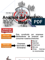 Análisis Del Mercado Meta Plan de Marketing
