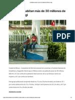 En México habitan más de 30 millones de jóvenes