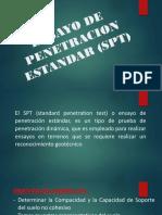 Ensayo de Penetracion Estandar (Spt)
