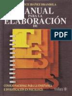Manual para la elaboración de tesis - Berenice Ibáñez Brambila-LIBROSVIRTUAL.pdf