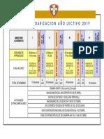 Calendar i Zac i on 2019
