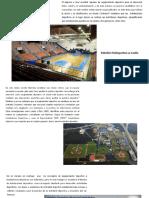 Introducción a Las Instalaciones Deportivas