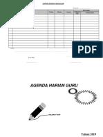 Agenda Harian Mengajar