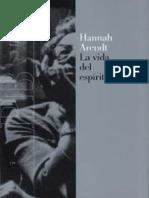 Arendt Hannah - Vida Del Espiritu.pdf