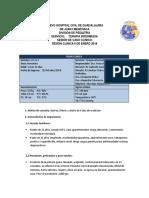 Caso Clinico 08-01-2018 Terapia Intermedia
