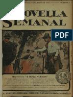 A Novella Semanal, Anno 1, n. 01, 02 Mai. 1921