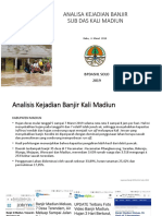 Kronologi Banjir Kali Madiun