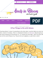 8 Fun Things to Do With Idioms - Minds in Bloom