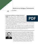 1 La Misión en El Antiguo Testamento