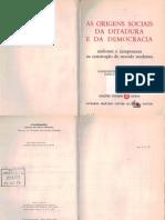 (TEXTO MARCADO) (CAP 1 e 2) MOORE Jr. As Origens Sociais Ditadura Democracia.PDF