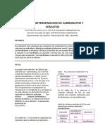 Carbonatos y Fosfatos