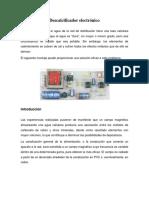 Descalcificador electrónico