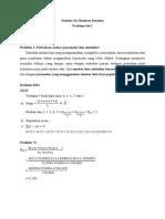 Problem Set 2_Uthari Anggia Dewi_18REG74113