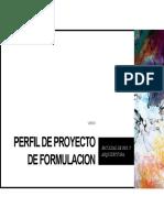 Diapositivas Proyecto de Formulacion