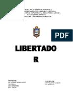 Ensayo Pelicula Libertador