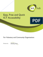 ICT Hub Accessible ICT Guide