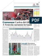 La Provincia Di Cremona 14-03-2019 - Cremonese