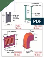 Steering Room Air Ducting-Details