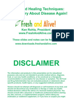 Never Worry About Disease Again Slides