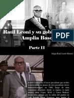 Edgar Raúl Leoni Moreno - Raúl Leoni y Su Gobierno de Amplia Base, Parte II