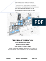 Road Technical Specifications