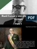 Edgar Raúl Leoni Moreno - Raúl Leoni y Sus Obras en El Tiempo, Parte I