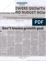 Philippine Daily Inquirer, Mar. 14, 2019, Govt lowers growth goal amid budget row.pdf