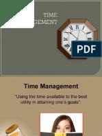 Time Management(Gs)